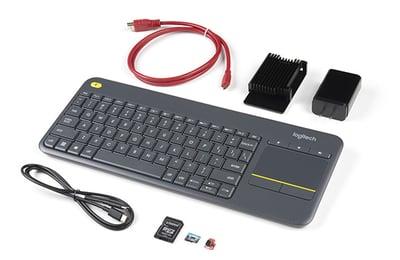 SparkFun Raspberry Pi 4 Desktop Kit - Without Raspberry Pi